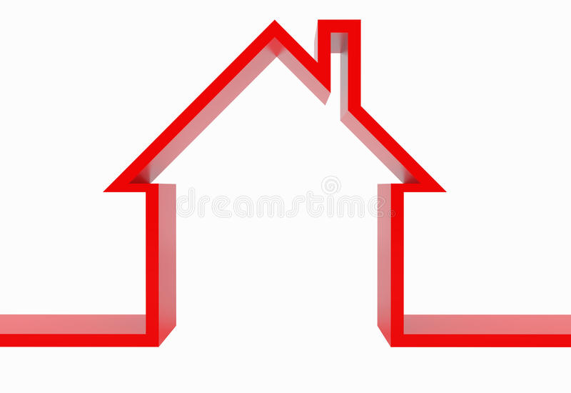 Download House stock illustration. Image of illustration, mortgage - 14853468