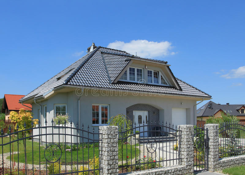 Download House stock photo. Image of building, area, suburban - 14854888