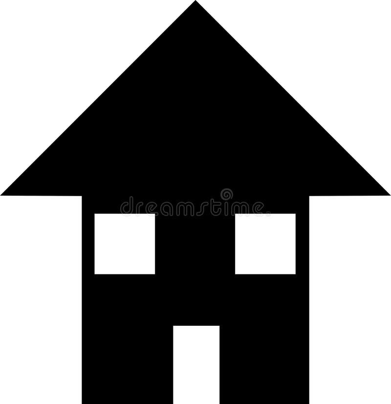 Download House stock illustration. Image of emblem, architecture - 16671257