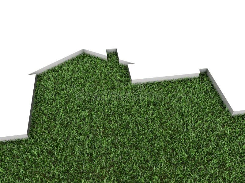 Download House stock illustration. Illustration of housing, garage - 20300364