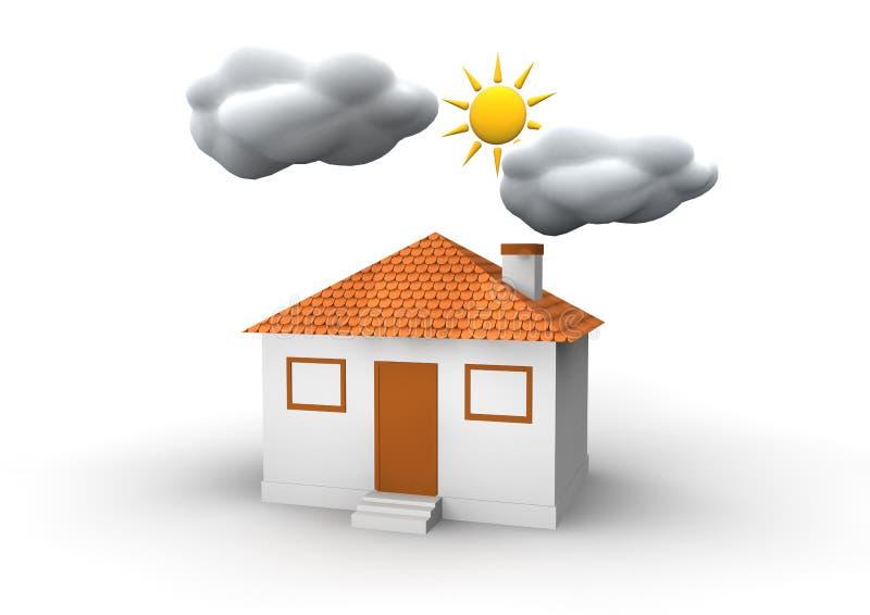 Download House stock illustration. Illustration of white, rent - 25315429