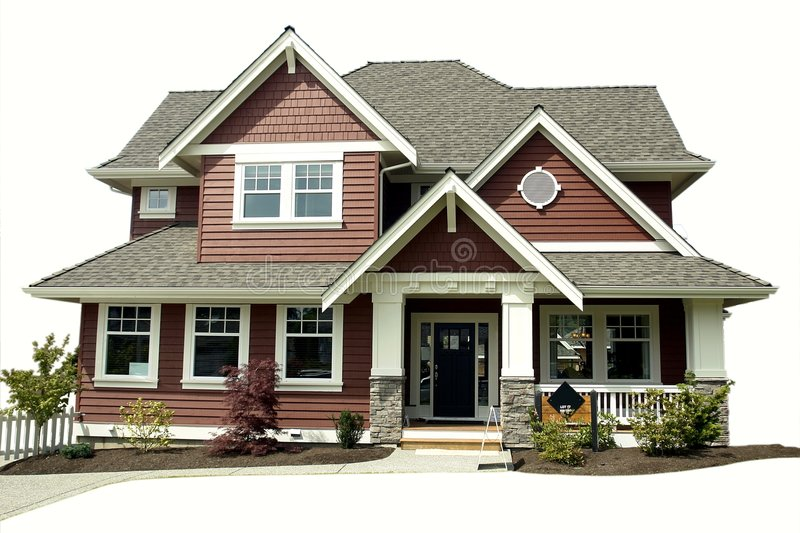 Download House stock image. Image of landscaped, residential, dwelling - 8368421