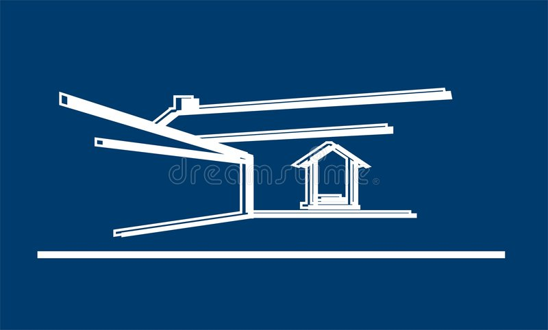 Download House stock illustration. Image of homely, insurance, landscaping - 848259