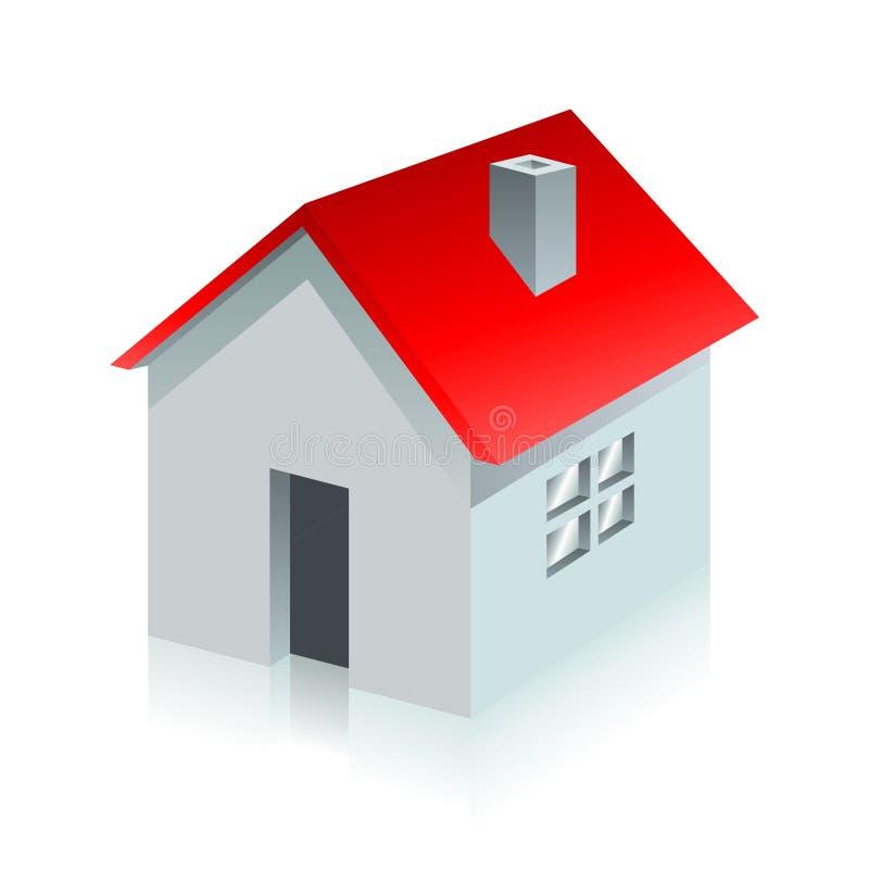House. Homepage symbol on white background vector illustration