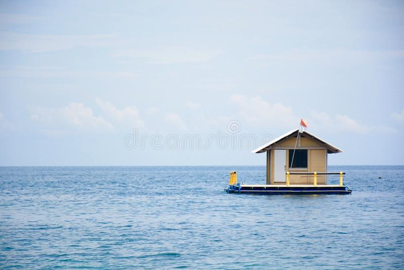 House Alone Peaceful stock image