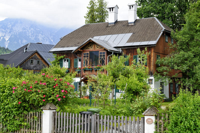 House in Altaussee stock images