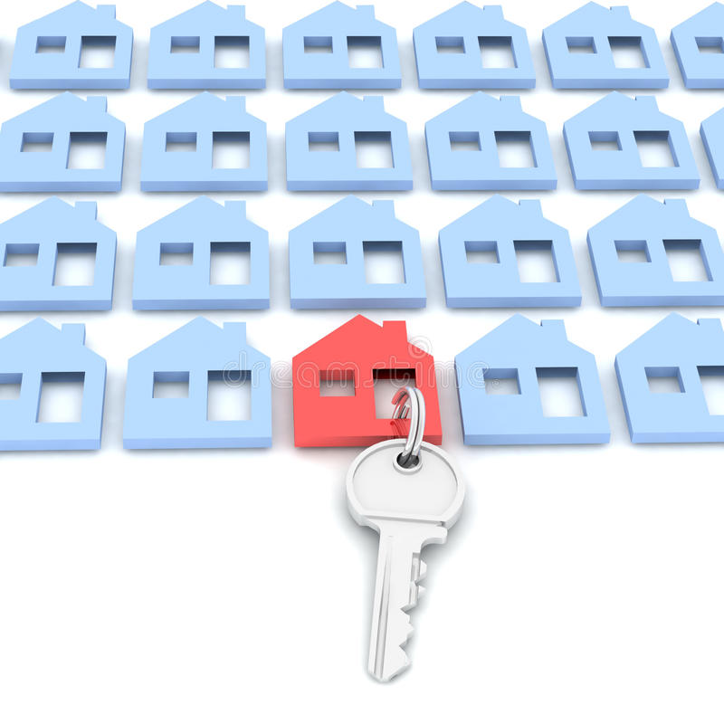 Free House And Key Stock Photo - 21003140