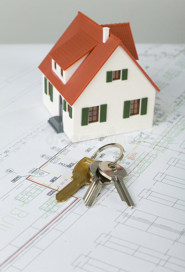 Free House And Keys Royalty Free Stock Photography - 3050877