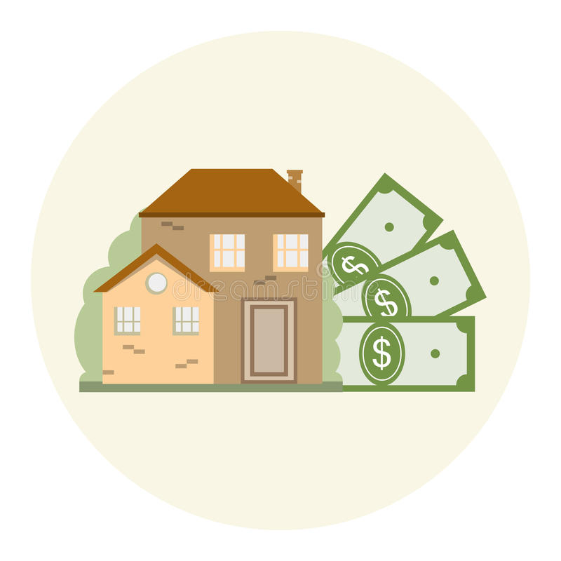 Free House And Money Business Concept Royalty Free Stock Images - 73765239