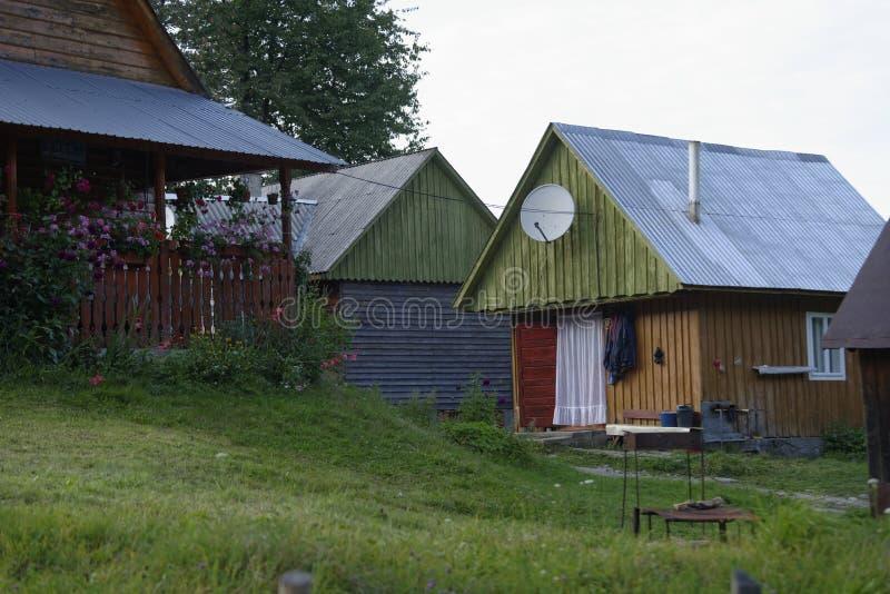 House in Apuseni Mountains, Transylvania, Romania stock photos