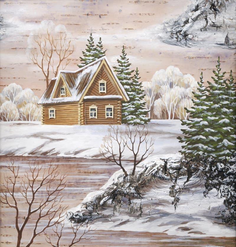 The house ashore royalty free illustration