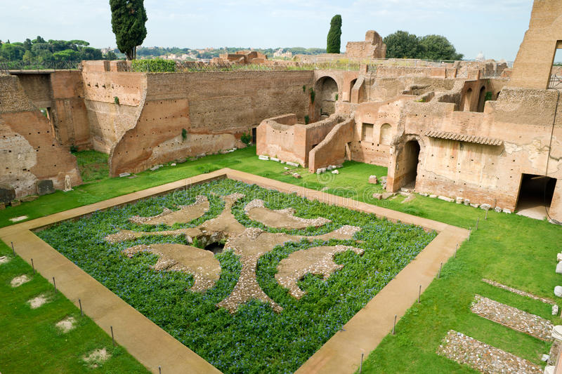 Download House Of Augustus At The Palatine Hill In Rome Stock Image - Image of architecture, empire: 27667347