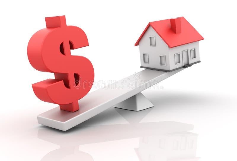 House Balance Royalty Free Stock Image