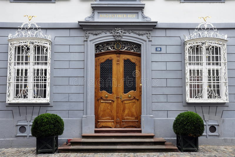 Swiss House In Basel Royalty Free Stock Image