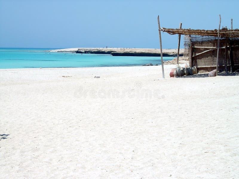 House on the beach royalty free stock photos
