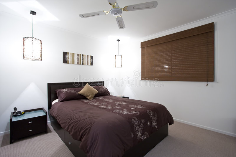 House Bedroom stock photo