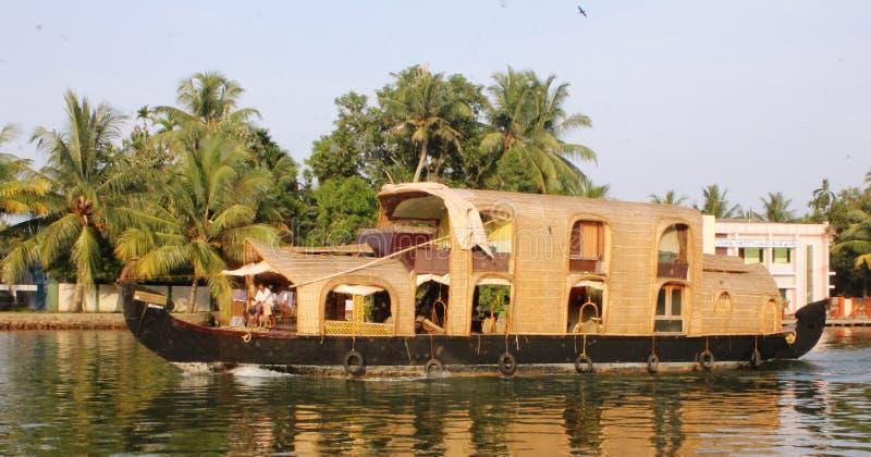 House Boat India royalty free stock photos