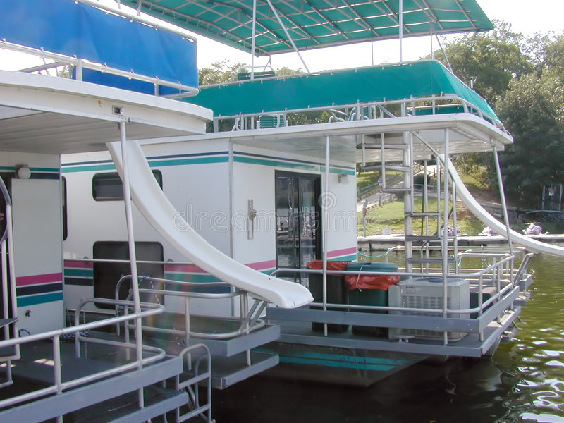Download House Boats stock photo. Image of float, house, deck, travel - 261550