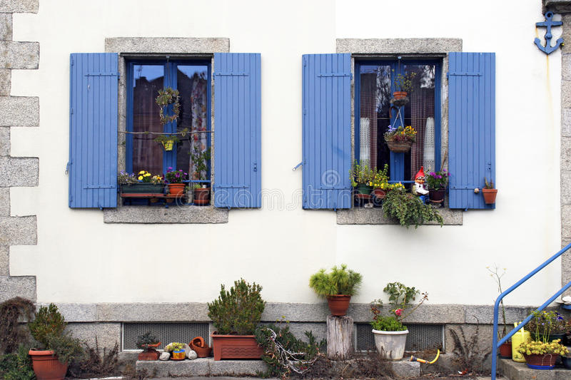 Download House in Brittany stock image. Image of brittany, wall - 25420669