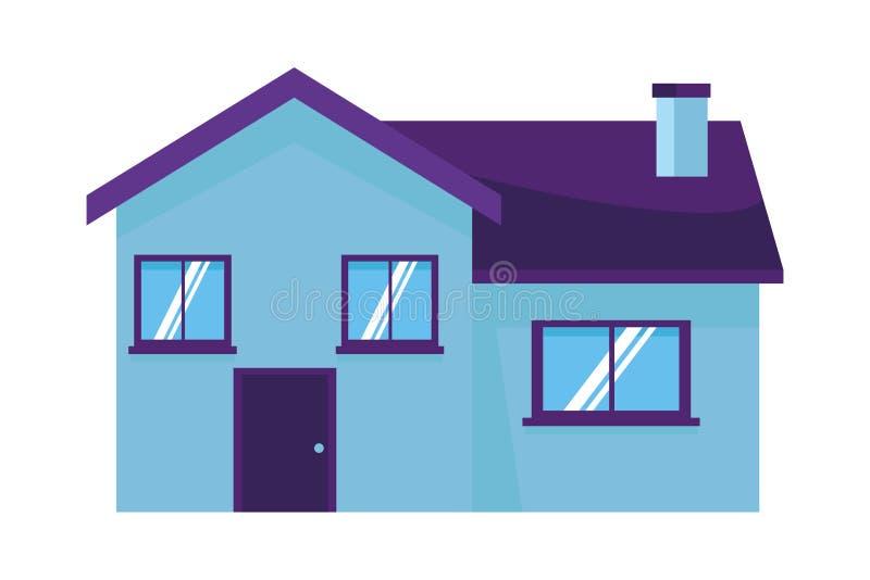 House building icon. Cartoon vector illustration graphic design royalty free illustration