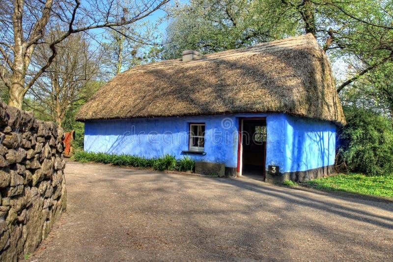 House In Bunratty Castle & Folk Park - Ireland. Stock Photography