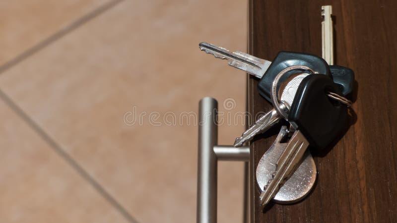 House or car keys royalty free stock image