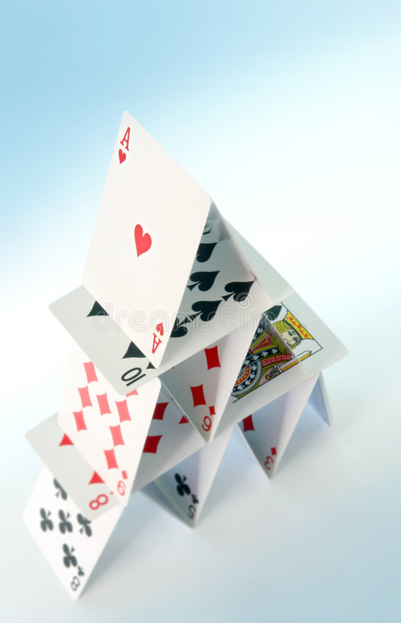 House of Cards stock images