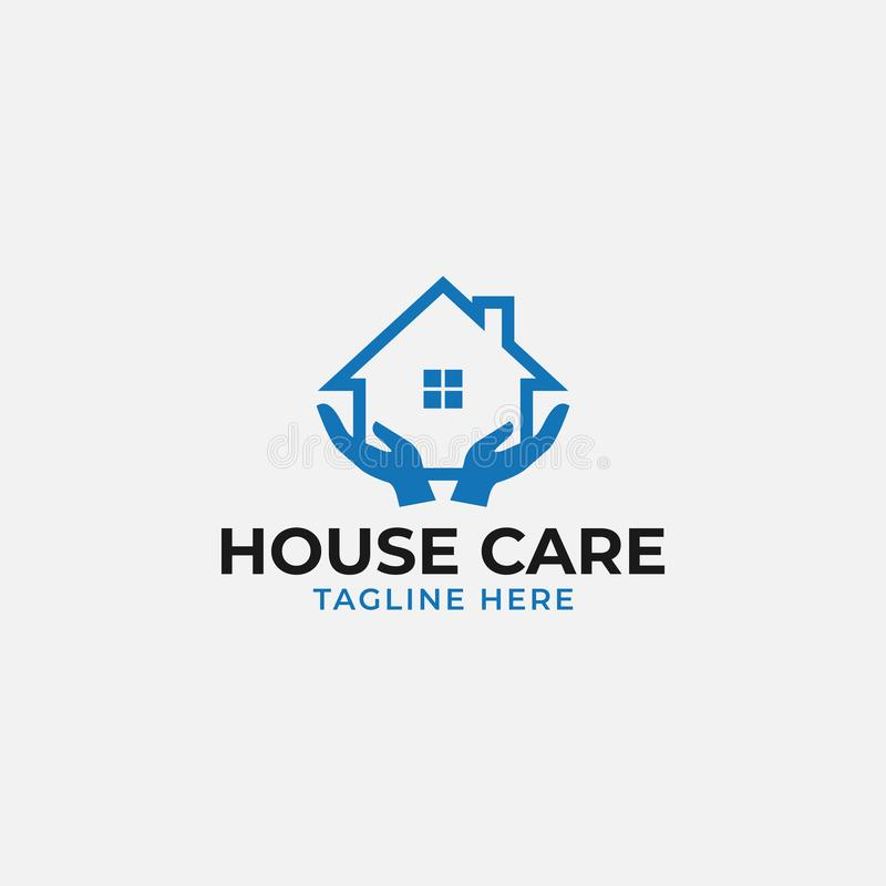 House care logo design template vector isolated vector illustration