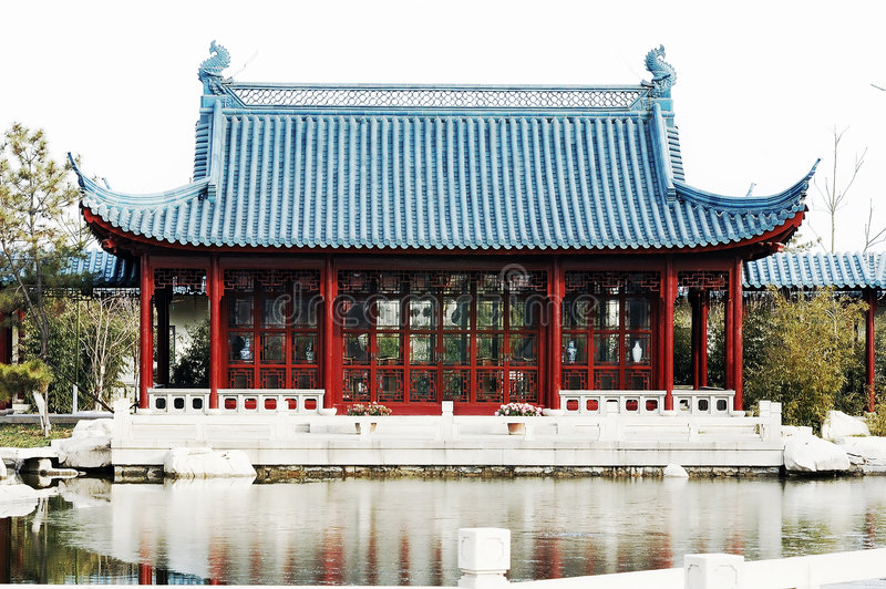 House Of Chinese Style Stock Photos