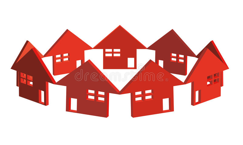 Download House circle - vector stock vector. Image of house, ring - 20464518