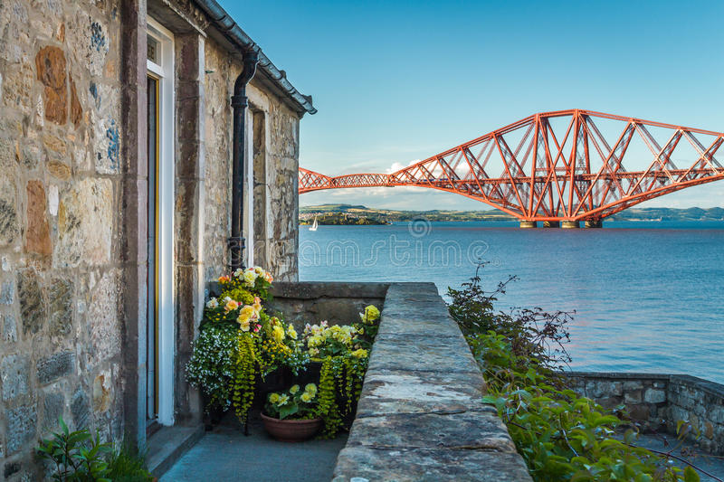 Download House Close To The Firth Of Forth Bridge Stock Photo - Image: 26406450