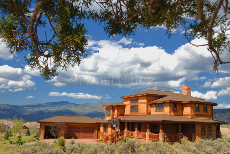 House in Colorado stock photography