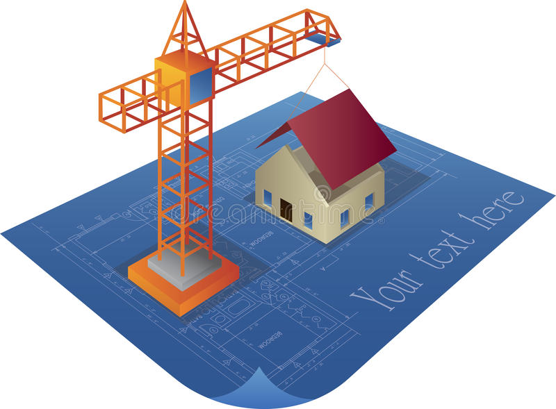 House construction stock image