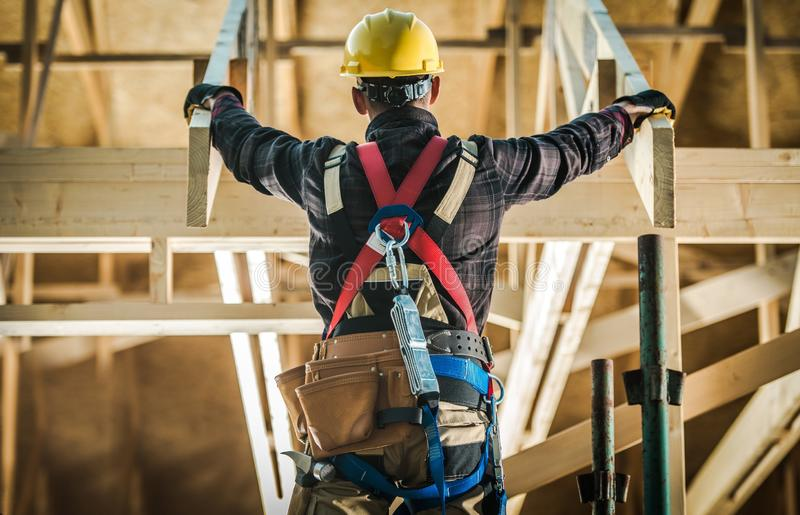 House Construction Challange stock photography