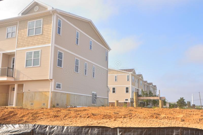 Residential house under construction royalty free stock photo