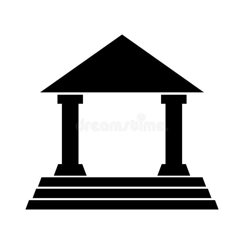 House court isolated icon. Illustration design vector illustration