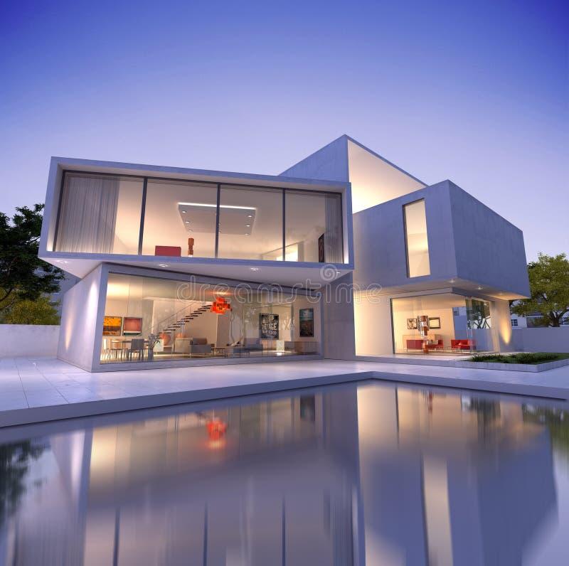 House Cube B1 Deconstruction Stock Photo - Image: 67092142