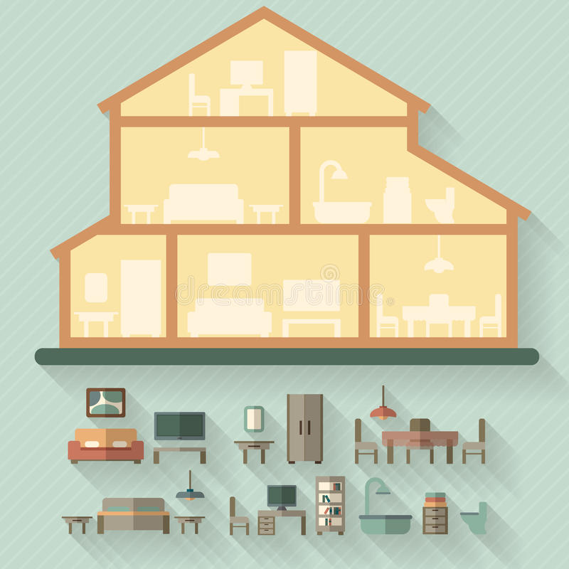 House Cut Stock Illustrations – 9,134 House Cut Stock