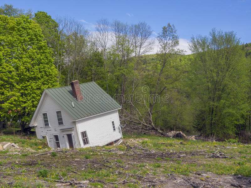 Download House Damaged By Flood Waters Stock Photo - Image: 31062192