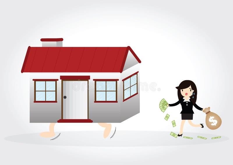 House Debt stock photography
