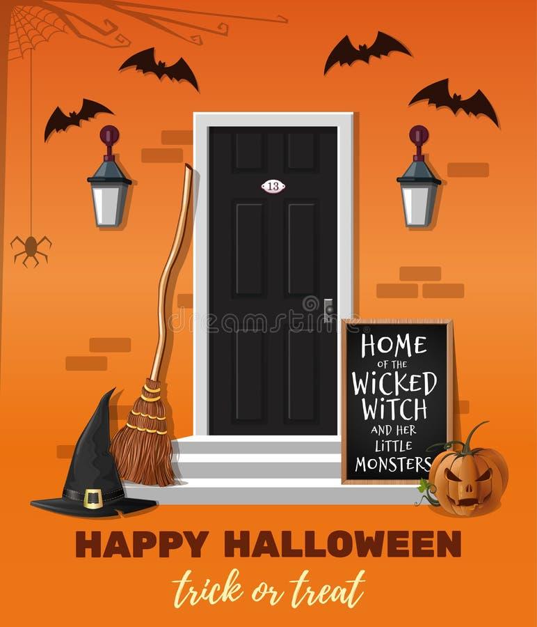 Little House Pumpkin stock illustration  Illustration of autumn