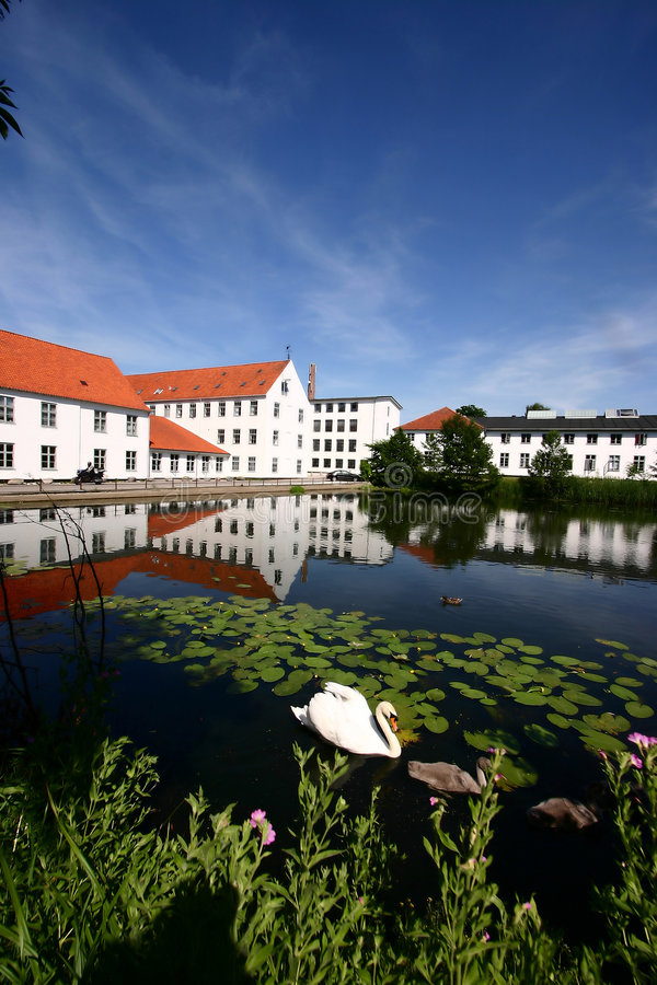 Download House In Denmark Stock Image - Image: 879181