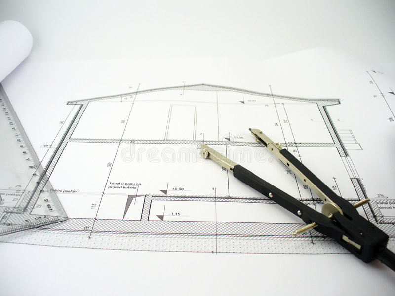 House design stock image