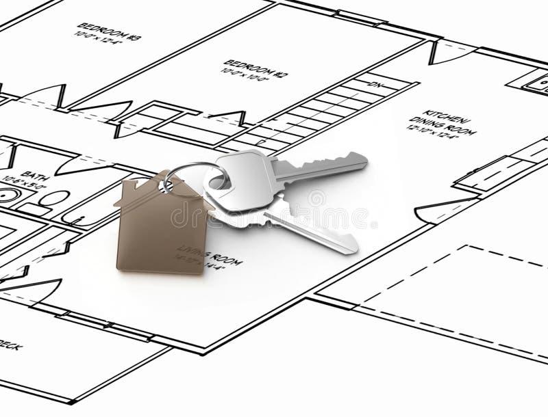 House design stock illustration