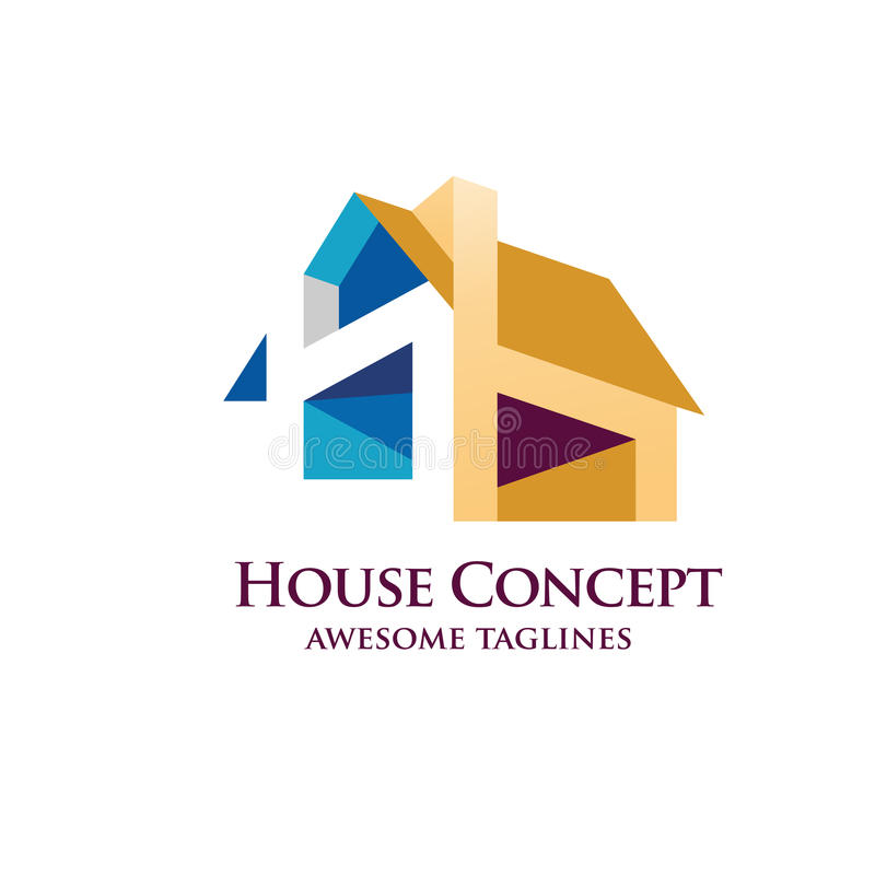 House Design vector stock illustration