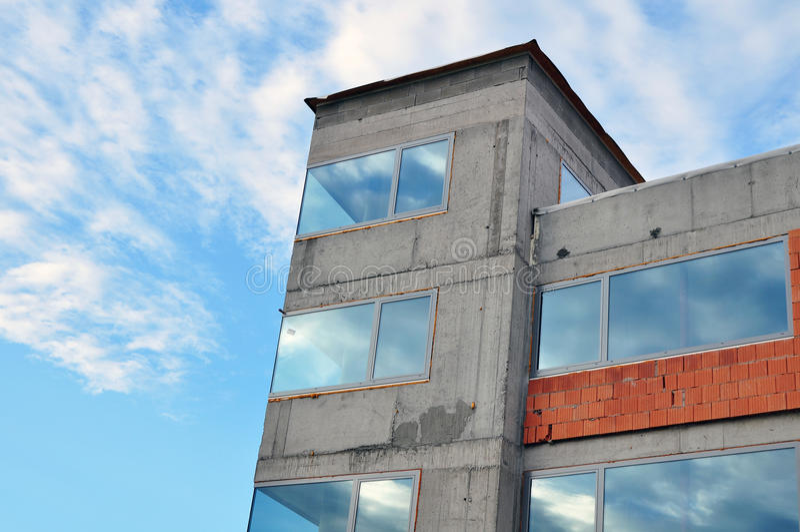 House Development Stock Photo