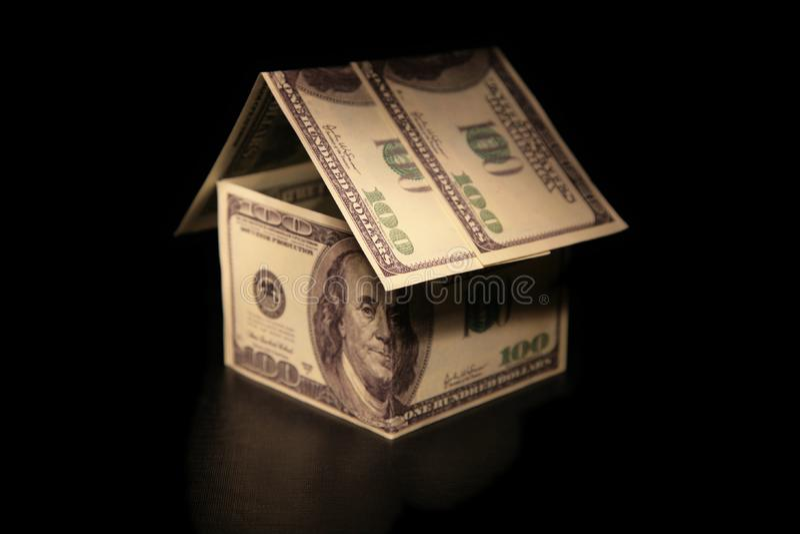 Download House of dollars stock image. Image of loan, model, design - 7889137