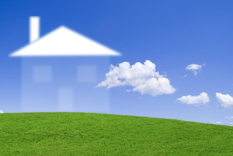 Download House Dream Stock Photo - Image: 12658200