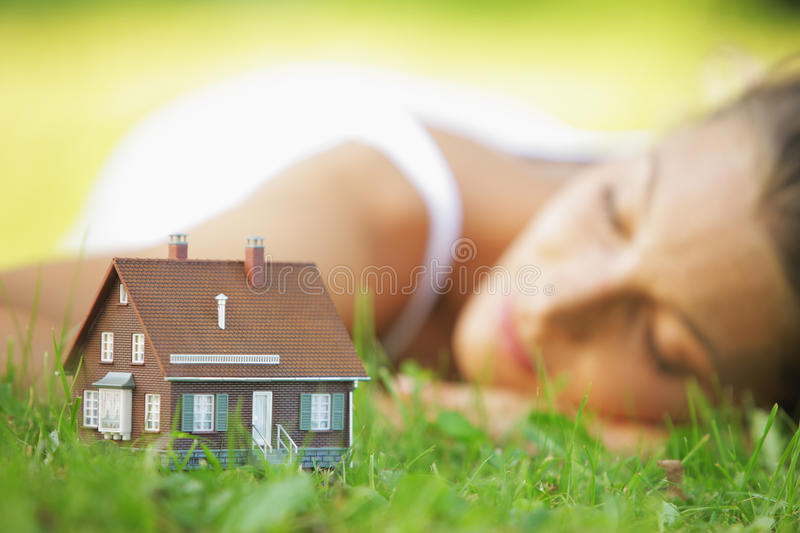 House of dreams stock photography