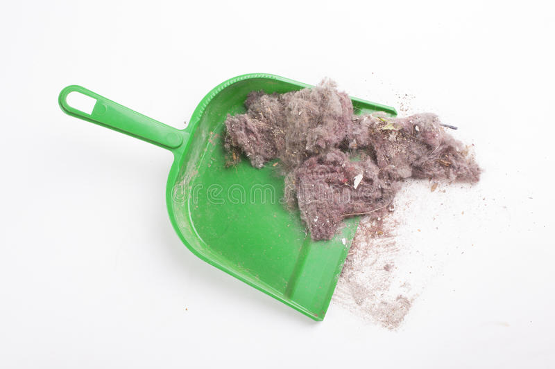 House dust. Common house dust on a floor stock images